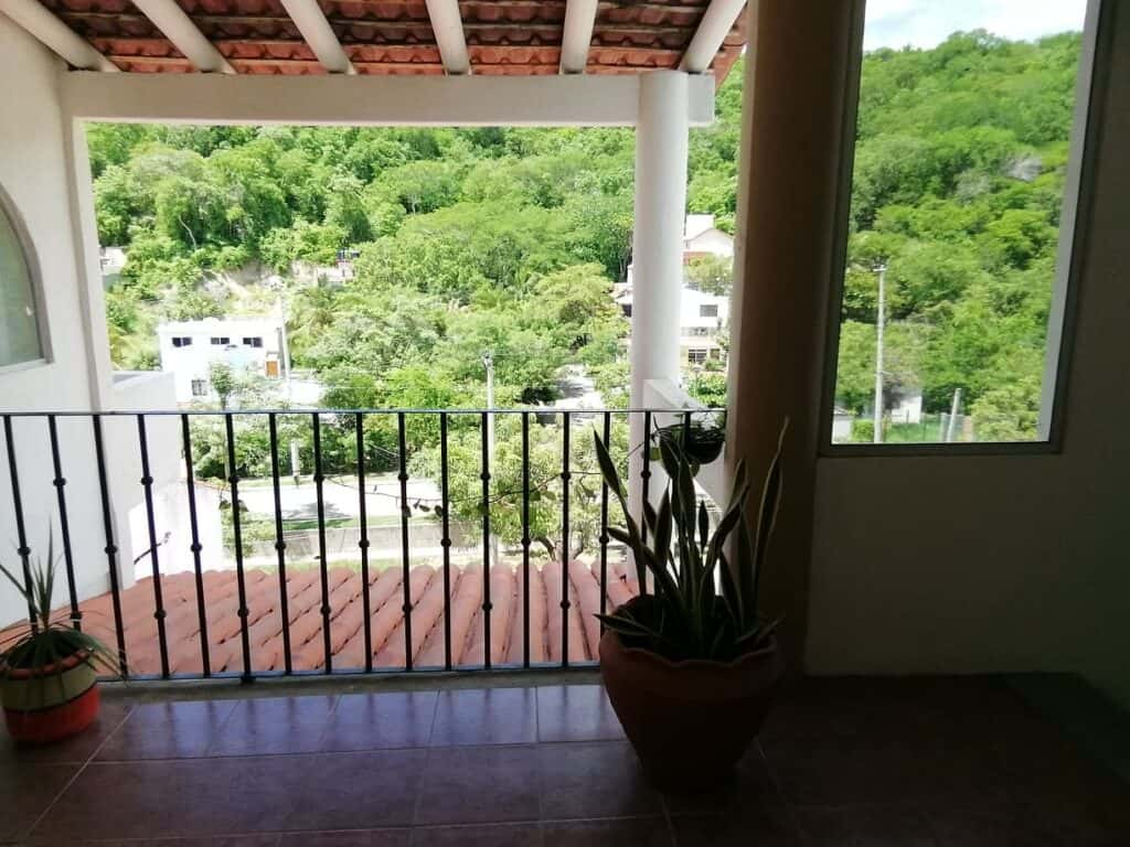 view of jungle from second floor rooms