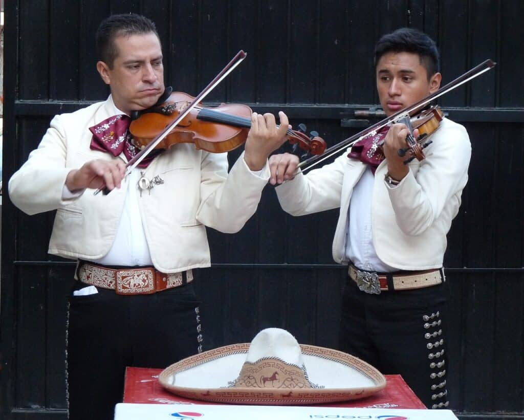 Mariachi songs from the Mariachi Band